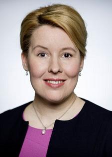 Bundesweite Schirmherrin: Bundesministerin Dr. Franziska Giffey